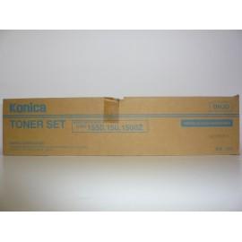 KONICA TONER 1500/1503/1550/ UBIX 150-Z/ CTG. 140GR x 2 + BAC ORIGINE