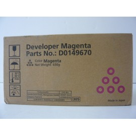 RICOH DEVELOPER MAGENTA MPC6000 ORIGINAL D0149670