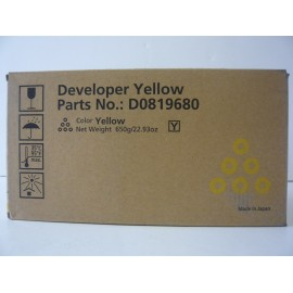RICOH DEVELOPER YELLOW MPC6000 ORIGINAL D0149680