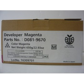 RICOH DEVELOPER MAGENTA MPC6501 ORIGINAL D0819670