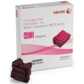 XEROX TONER COLORQUBE CQ8870/MAGENTA/6 CTG-17.3KC/ 108R00955 ORIGINE