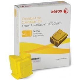 XEROX TONER COLORQUBE CQ8870/YELLOW/6 CTG-17.3KC/ 108R00956 ORIGINE