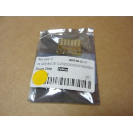 CANON CHIP POUR DRUM YELLOW IMAGERUNNER ADVANCE C2020 GENERIQUE CEXV34