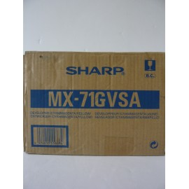SHARP DEVELOPER COLOR (CYAN, MAGENTA, YELLOW) MX6201N ORIGINAL MX71GVSA