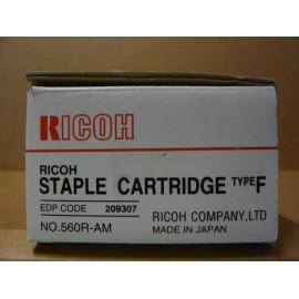 AGRAFES RICOH TYPE F / BOITE 5 CTG X 5000+CHARGEUR/ 209307 ORIGINE