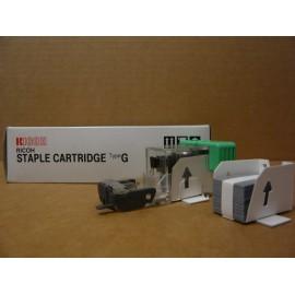 AGRAFES RICOH TYPE G / BOITE 4 CTG X 3000+CHARGEUR/ 410133 ORIGINE