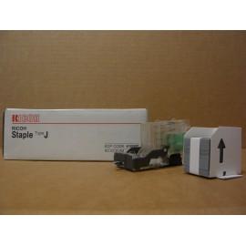 AGRAFES RICOH TYPE J / BOITE 5 CTG X 5000+CHARGEUR/ 410597 ORIGINE