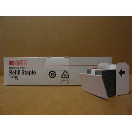 AGRAFES RICOH TYPE K / REFILL BOITE 3 CTG X 5000/ 410802 ORIGINE
