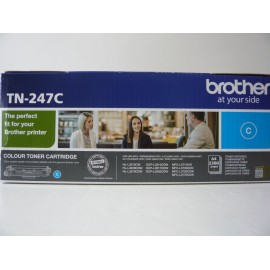 BROTHER TONER HLL3210/DCPL3550/MFC3730/CYAN-HC-2.3KC/ TN247C ORIGINE