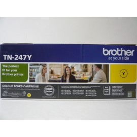 BROTHER TONER HLL3210/DCPL3550/MFC3730/YELLOW-HC-2.3K/ TN247Y ORIGINE