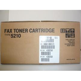 RICOH TONER FAX 5000L ORIGINAL TYPE5210 430260