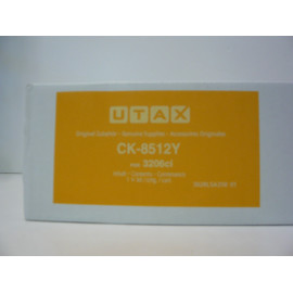 UTAX-TRIUMPH ADLER TONER YELLOW 3206ci ORIGINAL 1T02RLAUT1 CK8512Y